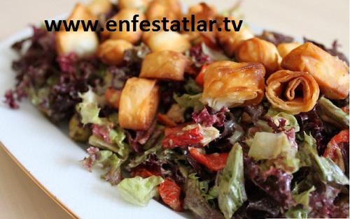 Çıtır Yufkalı Ton Salata Tarifi