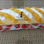 Şeftali Marmelatlı Rulo Pasta