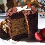 Kapuçinolu Çikolatalı Muslu Pasta