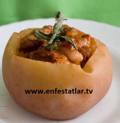 Etli Elma Dolması