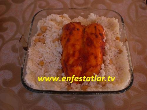 Fırında Tavukgöğsü