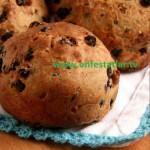 Glütensiz Fındıklı-Üzümlü Ekmek