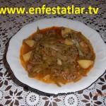 Kıymalı Patatesli Taze Fasulye Yemeği