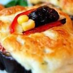 Kızarmış Hellim Peyniri Ve Patlıcan