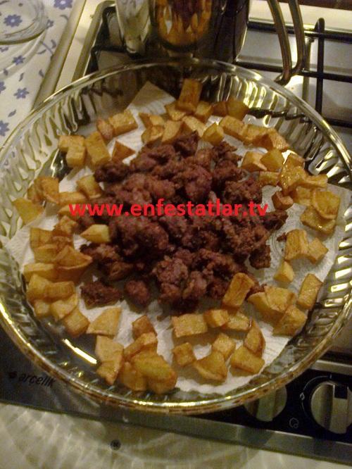 Patatesli Arnavut Ciğeri