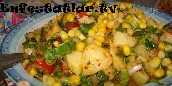 Patatesli Yaz Salatası