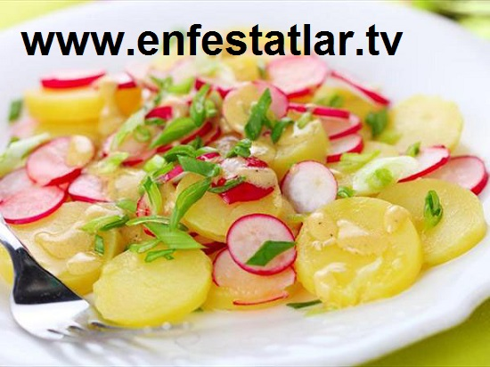 Rokalı Patates Salatası