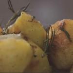Fırında Sarımsaklı Patates