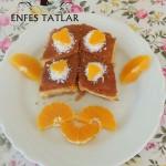 Yağsız Portakallı Revani