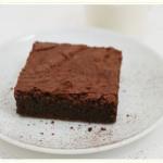 Unsuz kek (Bitter çikolata ile)