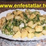 Maydanozsuz Patates Salatası